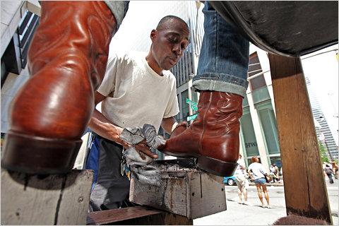 Don, the Shoeshine Man