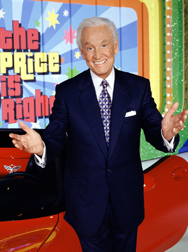 "Bob Barker on ""The Price is Right"""
