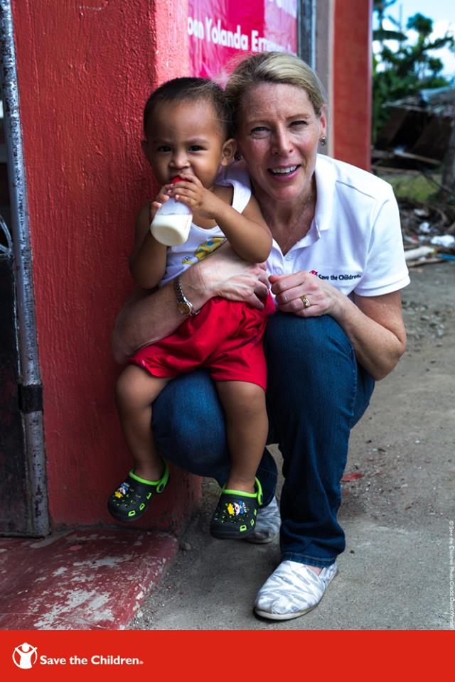 President & CEO of Save the Children, Carolyn Miles.
