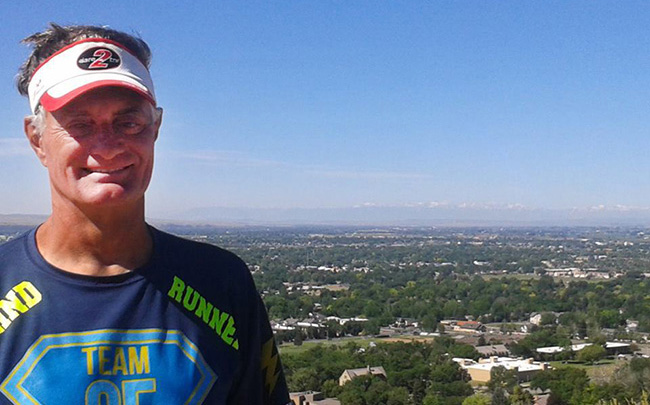 David Kuhn is running across the US for cystic fibrosis
