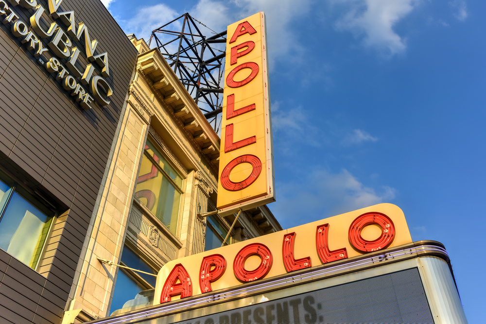 The historic Apollo Theatre