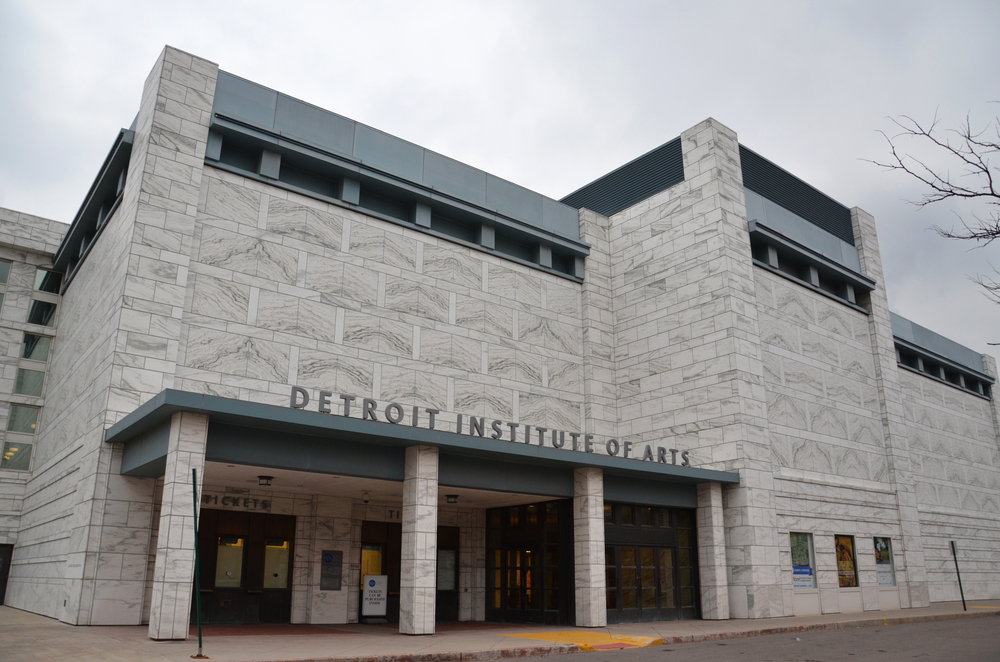 A photo of the Detroit Institute of Arts building.