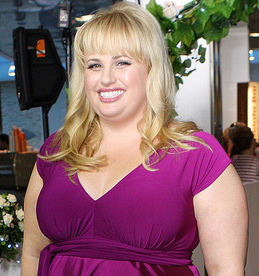 A picture of actress Rebel Wilson.