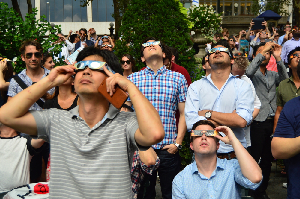 More than 30 million pairs of eclipse glasses will be going into the waste stream, unless they're donated to this charity.