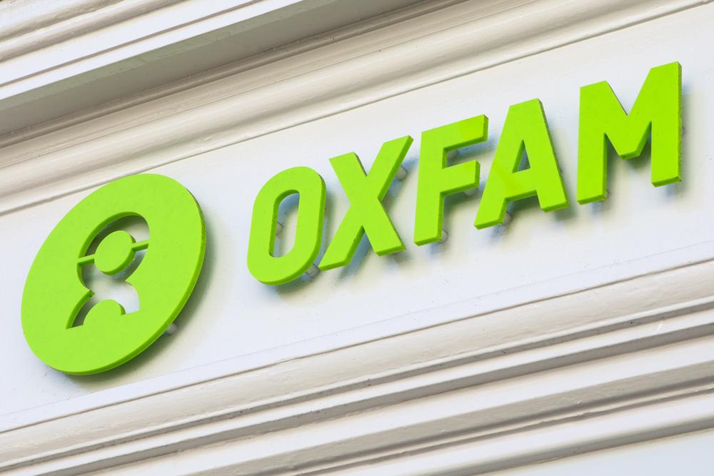 Oxfam's logo.