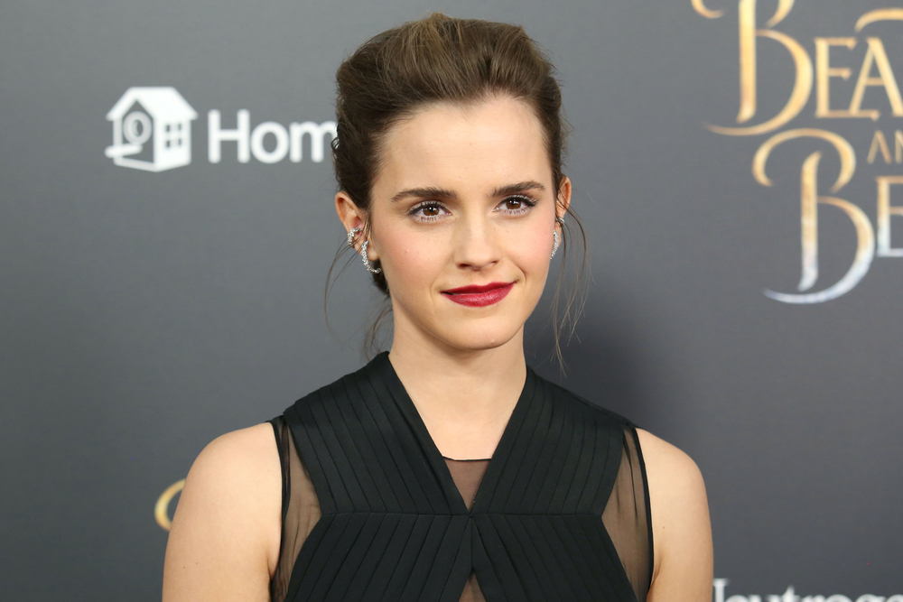 A photo of Emma Watson, who recently donated £1 million (Nearly $1.4 million) to the Justice and Equality Fund.