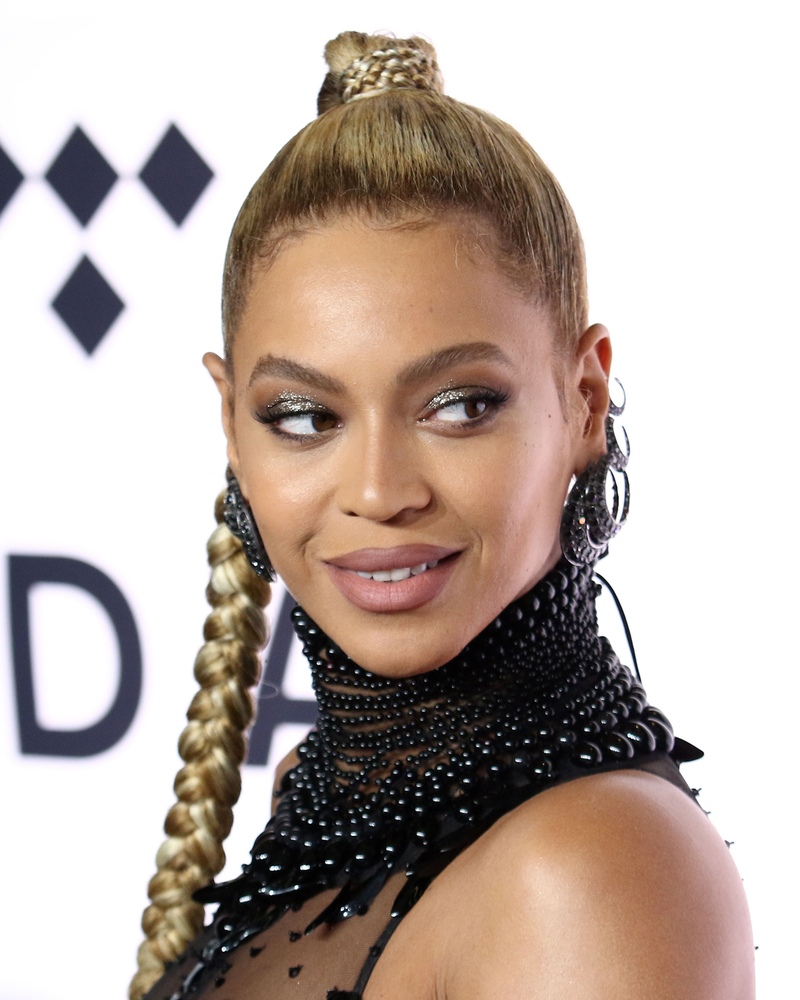 A photo of pop singer Beyoncé Knowles.