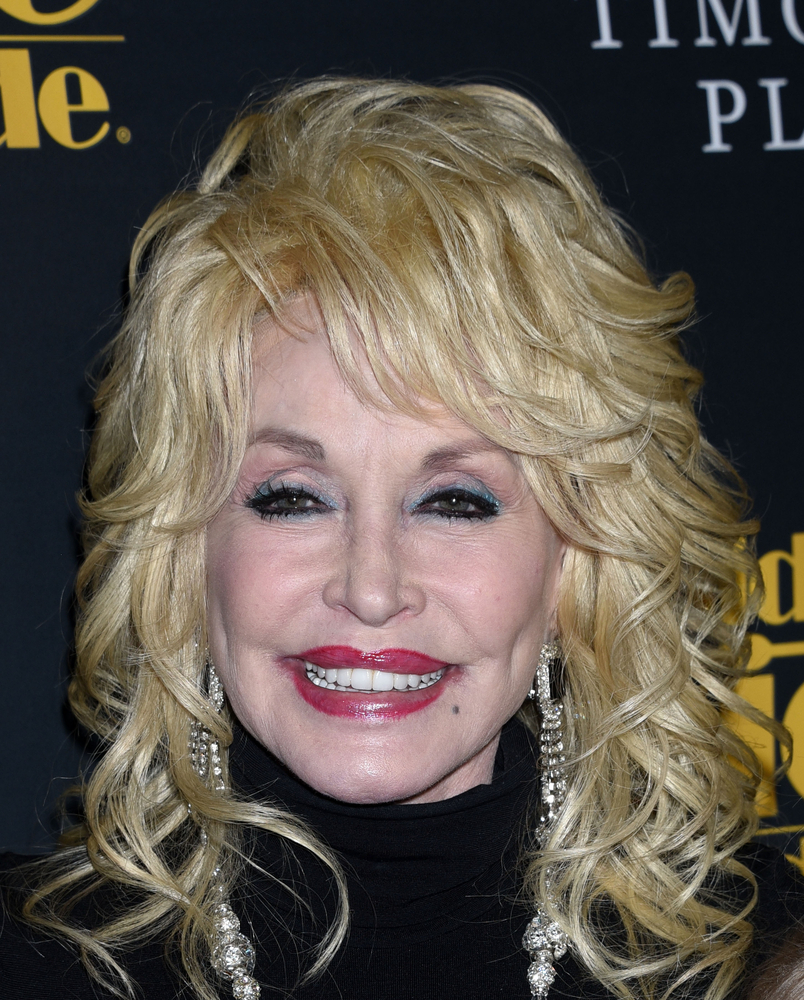 A photo of country singer Dolly Parton.