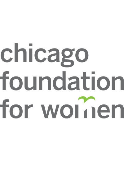 Logo for the Chicago Foundation for Women.