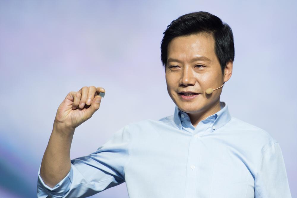 A photo of Xiaomi CEO Lei Jun.