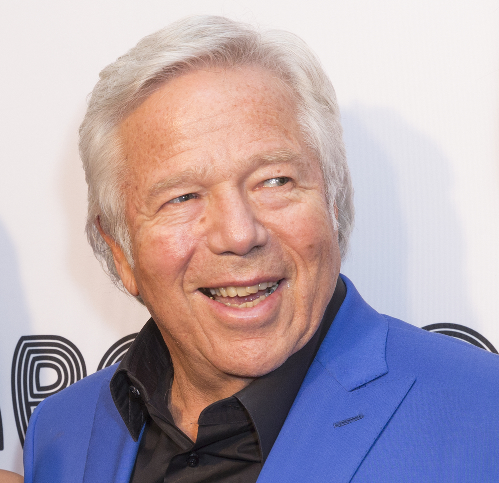 A photo of Robert Kraft.