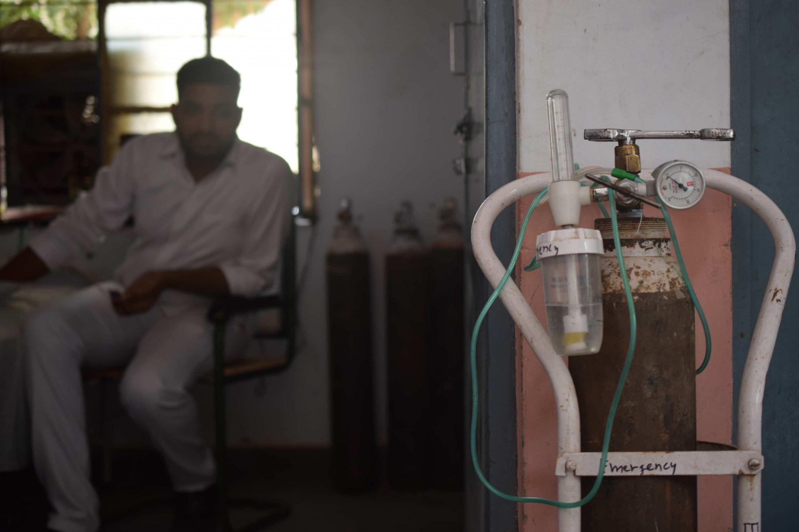Oxygen tank philanthropist