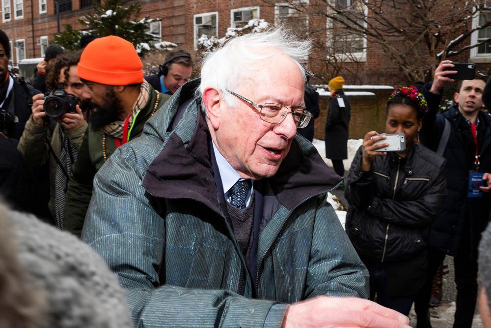 Bernie Sanders Donation
